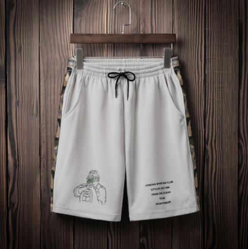 Diseñador de moda Pantalones cortos para hombre Pantalones cortos de playa ocasionales con patrones Pantalones cortos para hombres Ropa interior para hombres Pantalones cortos para hombres Ropa de verano para el ocio