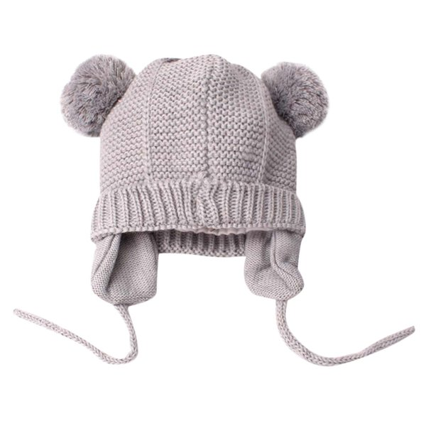 Baby Winter Hat Autumn Cute Toddler Kids Girl&Boy Baby Infant Winter Warm Crochet Knit Hat Beanie Cap Drop Shipping