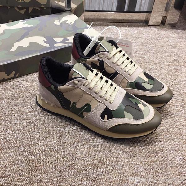 2019 NOUVEAU chaussures de sport en cuir de luxe femme designer chaussures de sport chaussures en cuir en cuir de mode mixte couleur loisirs zhan190513