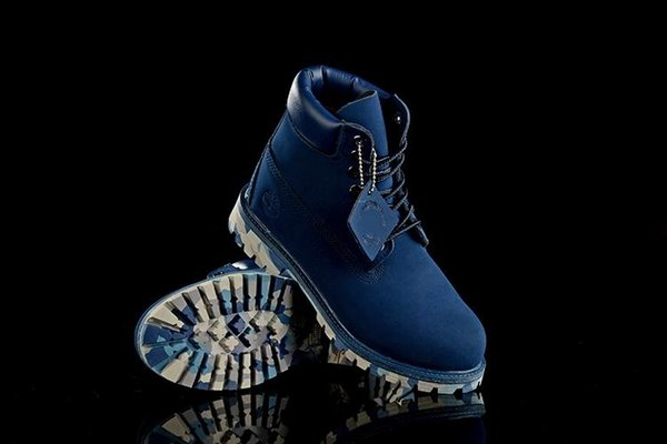 New Fashion Mens Womens 10061 Timbers 6 Inch Blue Coffee Boots Anti Fatigue Outdoor Mountaineering Shoes With Big Tree Log On Sale