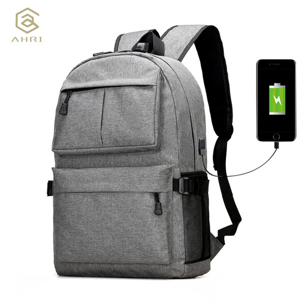 Ahri Usb Unisex Design Backpack Book Bags For School Backpack Casual Rucksack Daypack Oxford Canvas Laptop Fashion Man Backpacks Y19061004