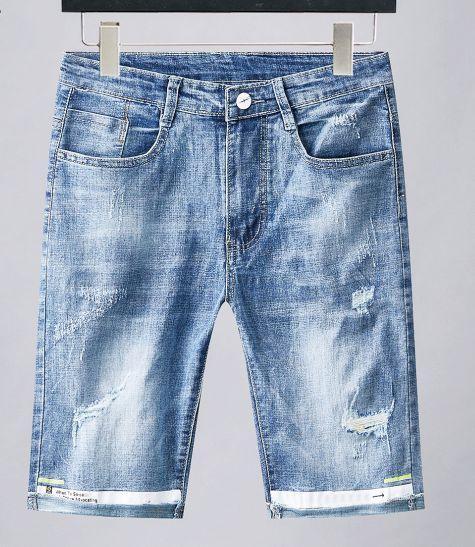Yeni lüks satış tasarımcı marka kapalı yeni beyaz stil erkek kot popüler Sokak hip hop en kaliteli kovboy pantolon yaz butik