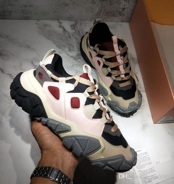 2019 Herbst neue alte schmutzige schmutzige alte Schuhe niedrig, um zu helfen, atmungsaktiv lässig weiße Schuhe kleine schmutzige Schuhe 35-44 mb03