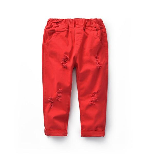 Джинсы для мальчиков тощий малыш мальчики Глория джинсы 12 лет дети Atummn лето мальчик джинсы брюки шаблон джинсовые брюки