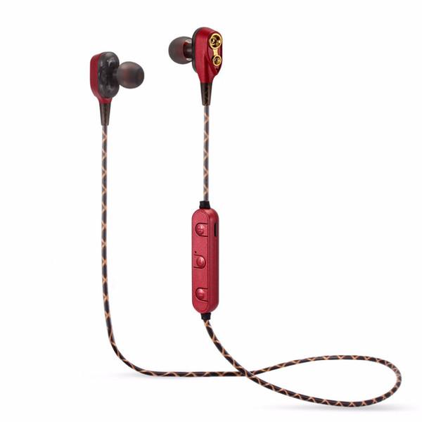 Estéreo Bluetooth V4.2 Deportes M18 + EDR Auriculares Mega Bass doble bobina móvil Auriculares Con muy reconocible Mejor Auricular