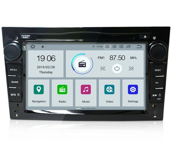 "COIKA 7"" Quad-core Android 9.0 Auto Car DVD GPS Navi For Opel Astra VECTRA ZAFIRA ANTARA Vivaro Radio RDS WIFI 4G OBD DVR 3D MAP 4K Video"