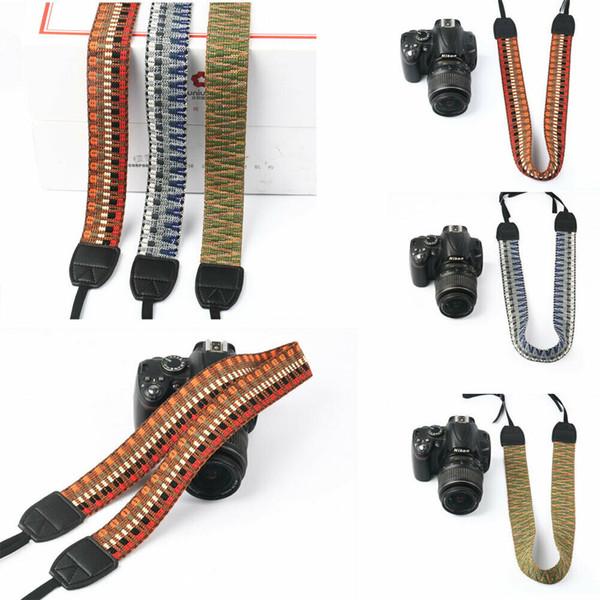 Evrensel Kamera Omuz Boyun Askı Kemer Odak Tutucu DSL Hızlı Kamera SLR sapanlar için Sony Canon Nikon