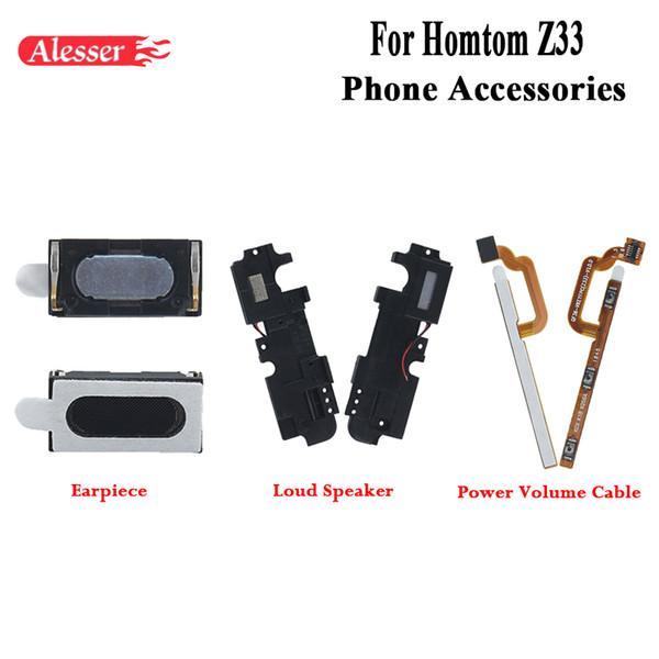 Para Alesser Homtom Z33 auricular Loud presidente de la Asamblea fijación de la pieza de recambio para el botón Homtom Z33 Potencia Tecla de volumen cable de la flexión