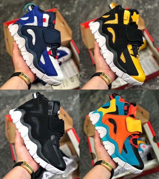 2019 Hommes Basketball Chaussures Outdoor Mid QS Noir Barrage HyperGrape Baskets femme sport Chaussures de sport CD9329-001