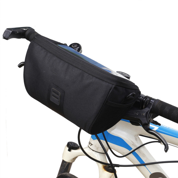 Multi-function Bike Front Tube Bag Waterproof Bicycle Handlebar Basket Pack Cycling Front Frame Pannier Bicycle Accessories