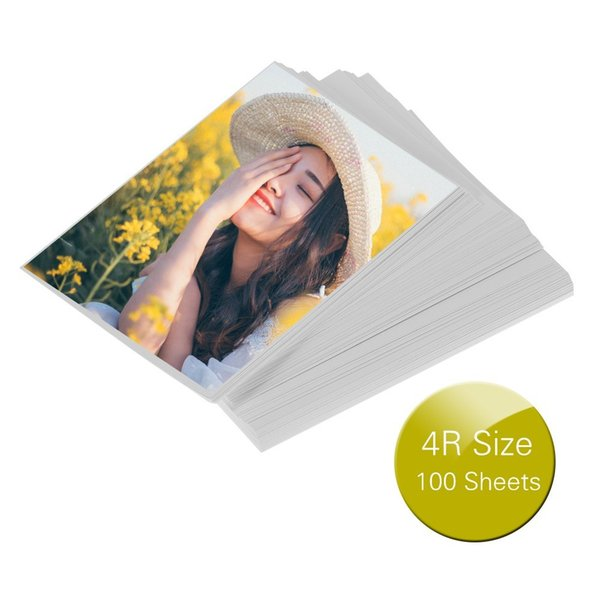 4R Size Photo Printing Papers Professional 4R Size 100 Sheets Glossy Photo Paper OS2353-2