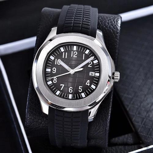 2019 New U1 Factory Mens Watch Nautilus Movimento automatico lunetta in acciaio inossidabile quadrante 40mm cinturino in gomma maschile orologi da polso