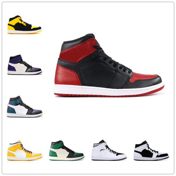 Fall 2018 new men's high-top basketball shoes fashion trend all-in-one comfortable sports shoes men's comfortable designer sneakers a53