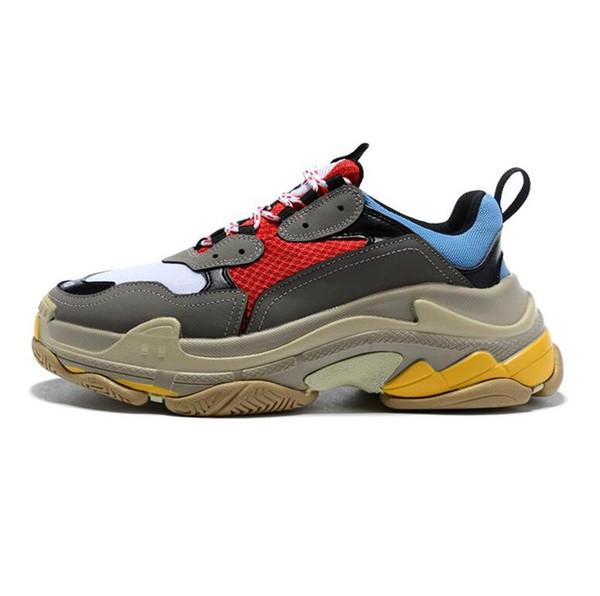 2019 Taglia 36-45 Sneaker basso-S Designer basso Suole spesse Stivali velocisti designer Uomo Scarpe runner Scarpe sportive personalizzate in pelle