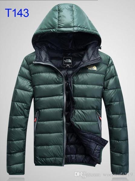 Men Classic brand Casual Down Jacket Shiny matte Down Coats Mens Outdoor Fur Collar Warm Feather dress Unisex Winter warm Coat outwear M-2X