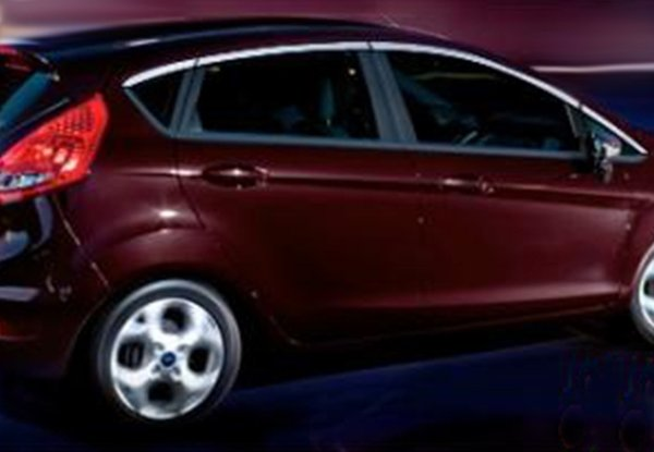 OmsaLine Ford Fiesta Glass Frame 8 Pcs. Stainless steel (top) and after 2009 Ship from Turkey HB-004242751
