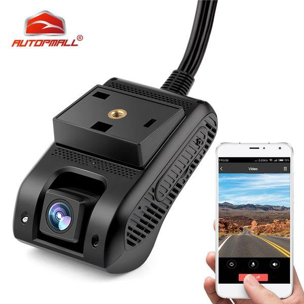 3G auto DVR del precipitare della macchina fotografica macchina fotografica con HD 1080P doppio GPS Tracker Remote Monitoring Live Streaming Video Recorder DVR