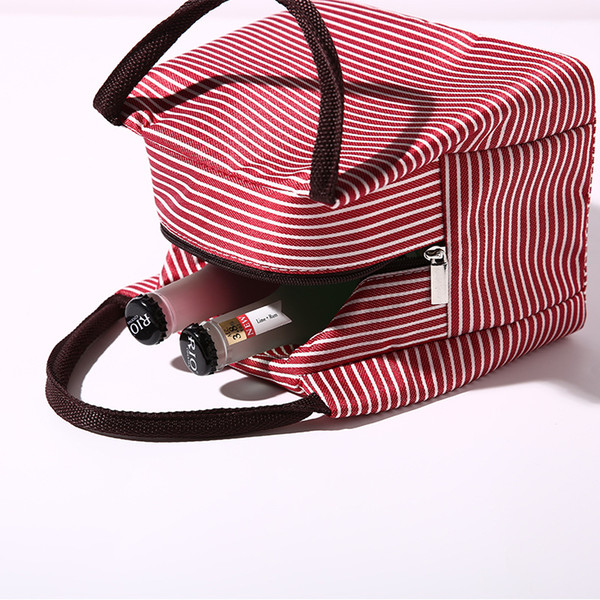 7 Cores 22X15.5X17cm Almoço da placa térmica caixa de sacos Jantar Define Bolsas Viagem Gadgets organizador do armário de cozinha Acessórios Atacado DHL