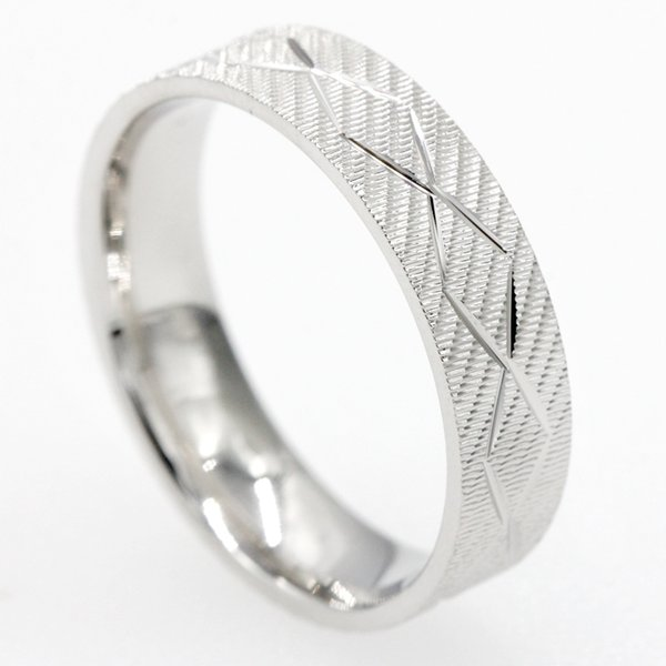 925 Sterling Silver Engagement Couple Ring Trendy Silver Lover