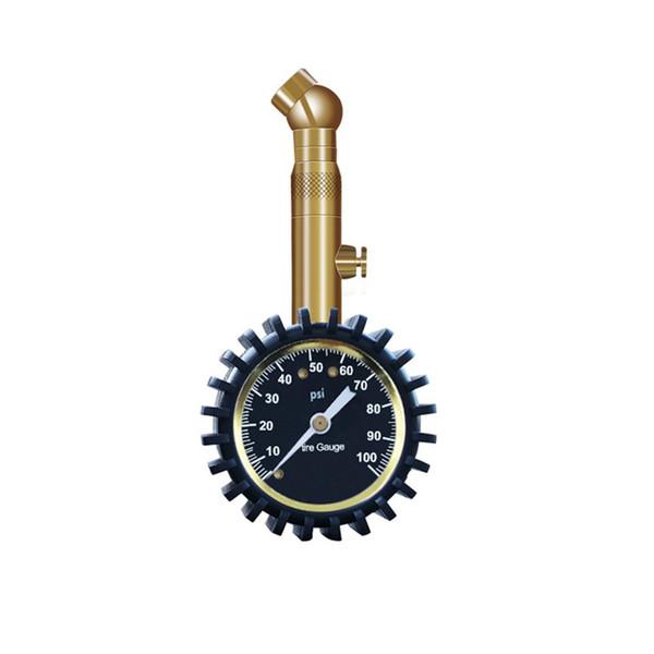 Medidor de presión de neumáticos de automóvil Probador de bicicletas Tabla de presión de neumáticos digitales Barómetros de seguridad Herramientas de monitoreo