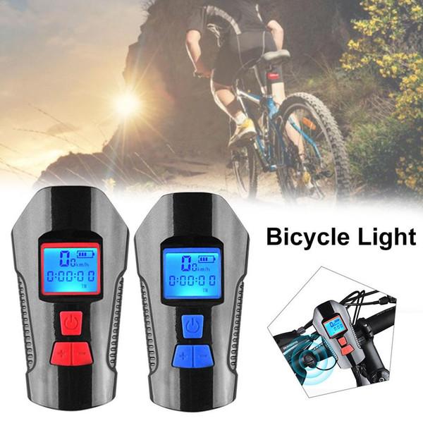 Fari per bicicletta da notte con computer con abbagliamento per computer Fari per auto Luce USB impermeabile per clacson