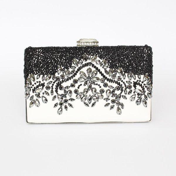 Luxurious Retro Banquet, Handbag, Grade, Bead Chain, Chain Pu, Leather Bag, Star, Same Bag.