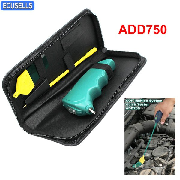 High Quality Auto Coil On Plug Checker COP Ignition System Quickly Tester ADD750 Hand-held Quick Tester Car Tool