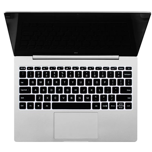 Unique Dust Proof Washable Ultra Slim English Laptop Keyboard Cover Silicone Skin Protector Compatible for Xiaomi Air 13.3,Silver