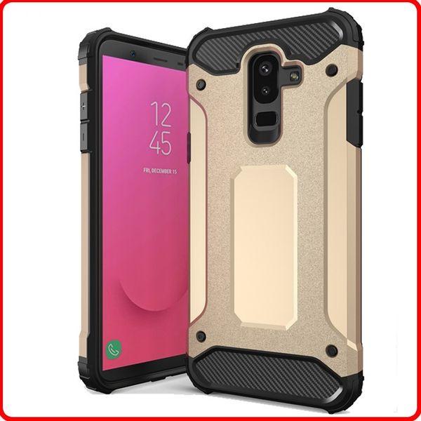 Luxury Steel Armor Rubber Case for Samsung Galaxy J3 Grand Prime J4 J5 J6 J7 J8 Pro 2016 2017 2018 Cell Phone Cases
