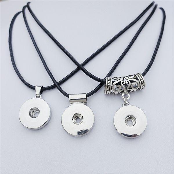 45cm black cord necklace