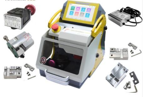 KukaiPortable Machine à tailler les clés au laser SEC-E9 5 pinces + Chargeur secteur Haute Qualité Prix Moins Cher Et Expédition Rapide Produit CNC