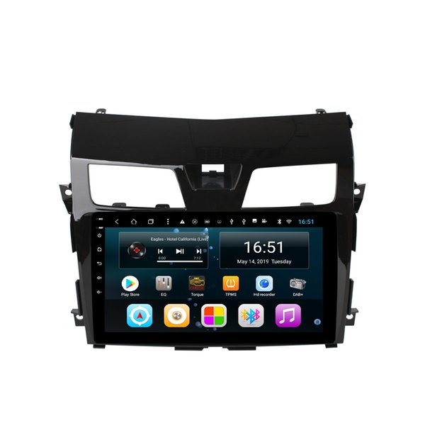 Android car radio with excellent bluetooth resolution HD 1024 * 600 music high quality bluetooth for Nissan 10.1inch