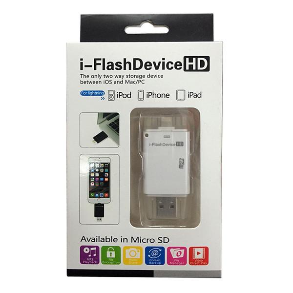 128 gb USB flash sürücü 64G i-flash sürücü HD USB memory stick Pendrive tipi-c android için / ipad / PC / MAC
