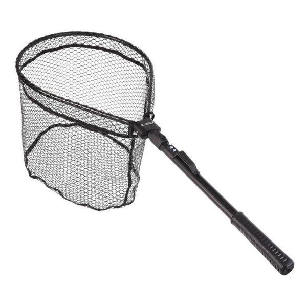 LEO Fishing Net Fish Landing Net, Foldable Collapsible Pole Handle, Durable Nylon Material Mesh, Safe Fish Catching