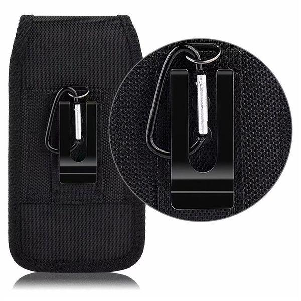Universal sport nylon gürtelclip holster handy fällen leder tasche für iphone samsung huawei moto lg hüfttasche flip moblie abdeckungen