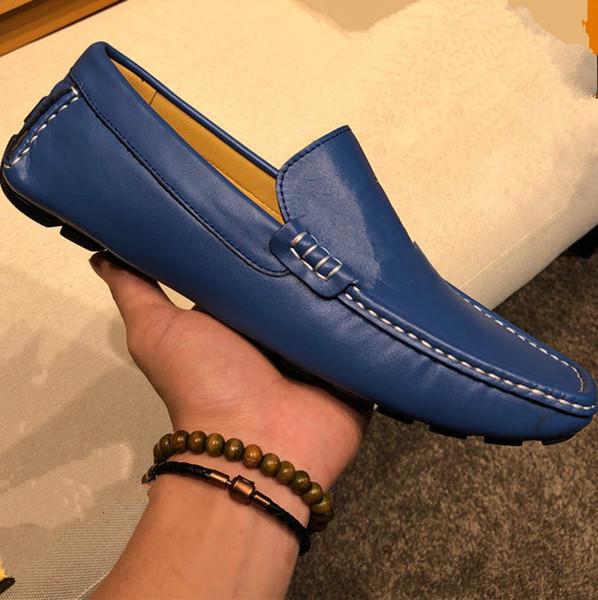 2020 L Designer De Luxo Da Marca Preta Glitter Spikes Cravejado de Fundo Vermelho Mocassins Sapatos Homens Apartamentos Festa de Casamento Senhores Vestido Oxford tamanho 38-46