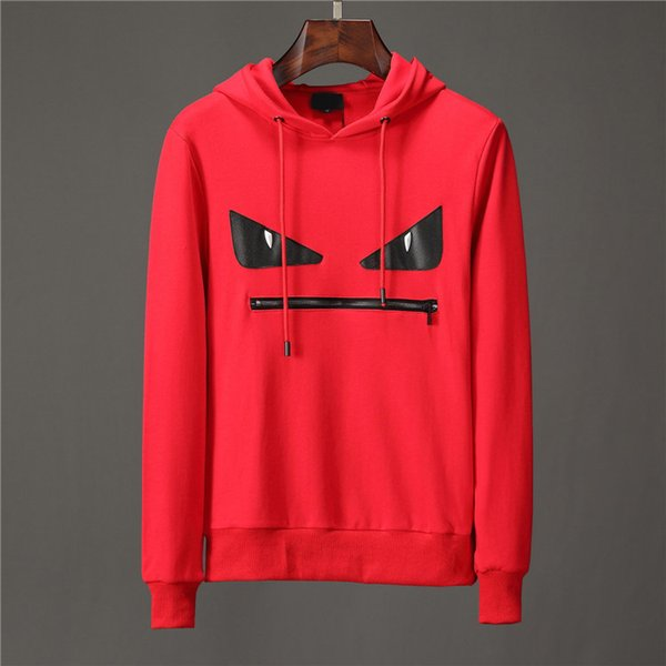 2019 Fashion Designer Hoodies Men Brand Pullover Hoodie Long Sleeve Caas Sweatshirt Brand Letter Embroidery Autumn Winter Mens Clothing From Qw9988,