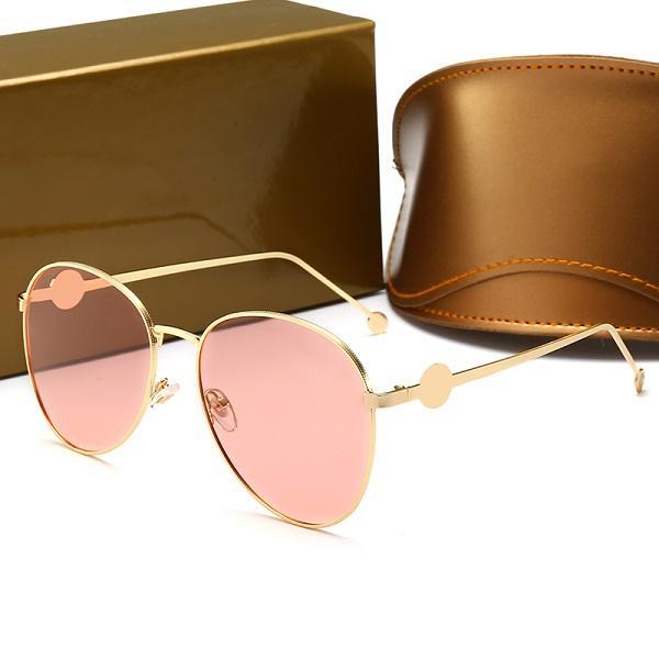 Gucci 0398 Designer-Sonnenbrillen für Frauen mit polarisierten Farben Glas Mode Luxus Sonnenbrille Trend koreanische Sonnenbrille mit großem Rahmen