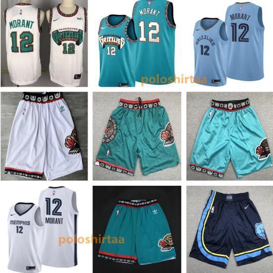 2019 2020 Mens Memphisgrizzlies Ja 12 Morant Basketball Jerseys Basketball Shorts Citynba Basketball Edition Jerseys From Poloshirtaa 50 77