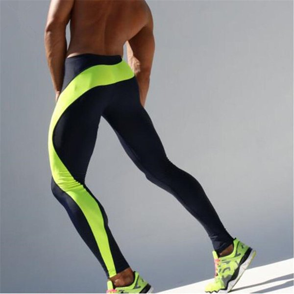 Brand Fitness Tights Men Leggings Sportswear Long Trousers Fitness Compression Compression Tights Pants Of Quick Drying