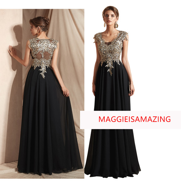 Formal Prom Dress for Women, V Neck Lace Bodice with Bones Party Bridesmaid Dresses E009 Maggieisamazing