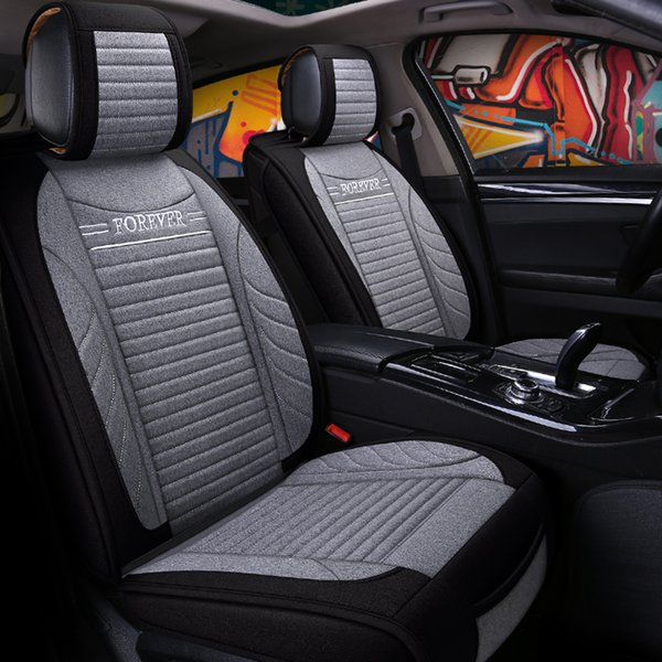 Enjoyable Universal Flax Fiber Car Seat Covers For Kia Morning Picanto Rio Cerato Soul Seed Optima Stinger K9 Car Seat Arm Cushion Car Seat Back Cushion From Caraccident5 Cool Chair Designs And Ideas Caraccident5Info