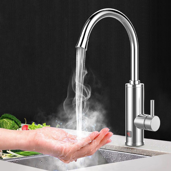 Hot and Water Mixer Electric Faucets Kitchen Shower Faucet Multifunctional Tub Faucet Kitchen