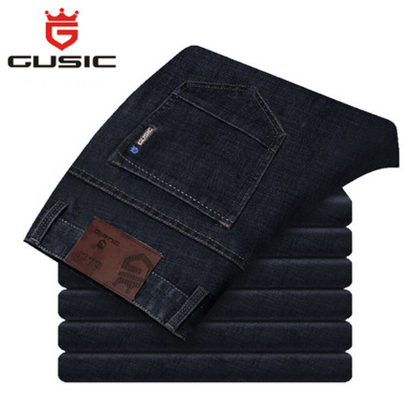 Mode Homme Jeans Eté Slim Fit Jeans de la marque en gros Jean Homme de grande taille (28-44), pantalons décontractés pour hommes, Jeans, taille Plue Taille