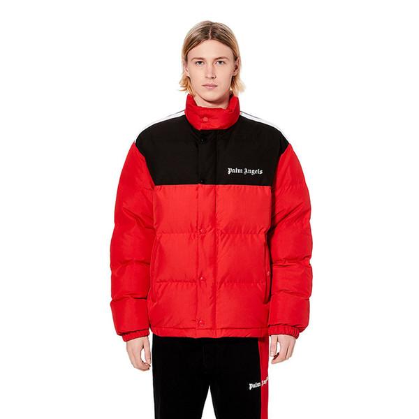 Palmiye Melekler Tasarımcı Kış fourrure Aşağı Parka Yüksek Kalite Erkekler Kadınlar Palto Erkek Tasarımcı Aşağı Ceket Dış Giyim