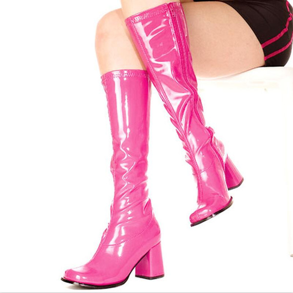 70er Jahre Stiefel in verschiedenen Farben für Damen