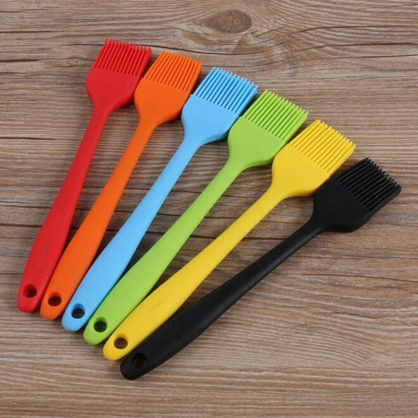 Silicone Baking Bbq Oil Barbeque Tools For Kitchen Tool Food Basting Brushes Grill Brush With Soy Sauce C19041501