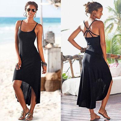 Novas mulheres vestidos 2017 algodão mulheres verão cocktail backless vestidos de praia