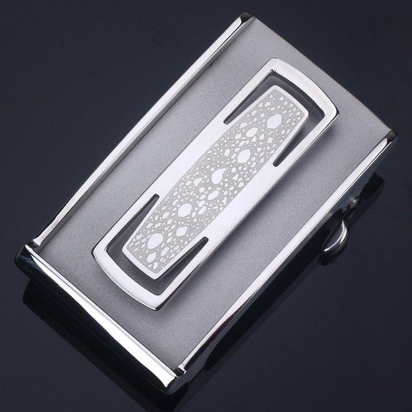 096-Automatic fibbia d'argento per Adatto