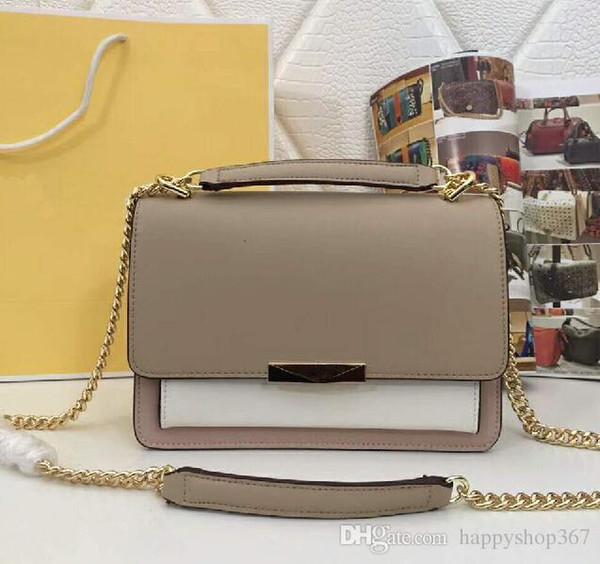 Designer- Mode de haute qualité en cuir véritable femmes sacs à main robe style luxe noir femmes sac à bandoulière 9688